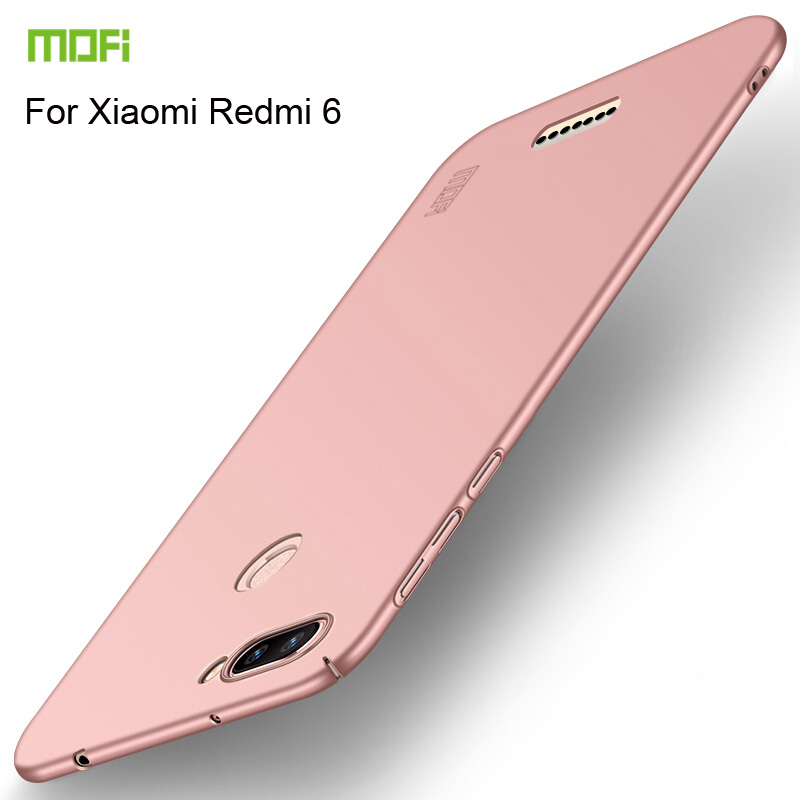 MOFi For Xiaomi Redmi 6 Case Cover Hard PC Phone Shell Protective Back Cases