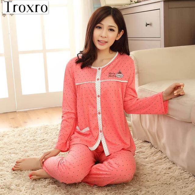 Pajamas Set Wokids Pijama Solid Sleepwear Fashion Pyjama Korean Night Suits Ladies  Home Wear Sexy Pyjamas Plaid 2007B c15dfa217
