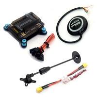 APM 2.8 Flight Controller w/ Shock Absorber + NEO 6M GPS + 5V 3A Power Module XT60 +Antenna Mount