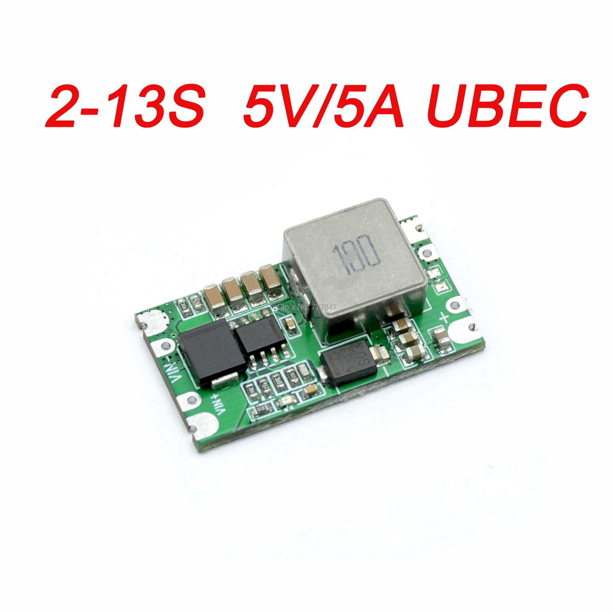 FPV Micro 5 V/5A 2-13 S BEC UBEC Mini 5 V 5A pour Drone RC quadrirotor