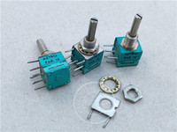 Original new 100% import PAK12 A22K B10K B100K 20% dual potentiometer handle long 22MMX4MM (SWITCH)