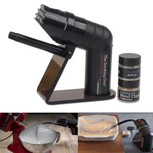 Image 2 - Smoking Gun Handheld Food Smoker French Molecular  Tool Molecule Cocktail Special Tools Smoke   Device Bar Set
