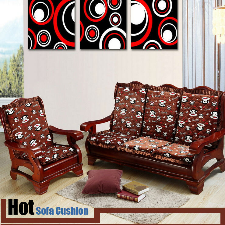 sofa seat covers online india black and grey throws cushions for wooden with cushion at rs ...