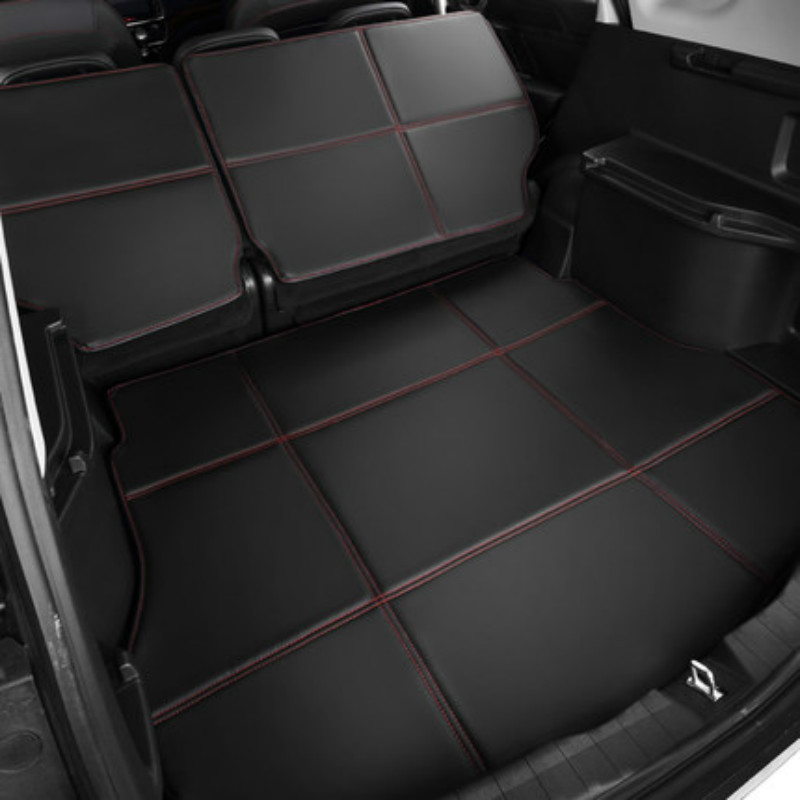 Waterproof Boot +Back Seat Carpets Durable Custom Special Car Trunk Mats for Ford Focus Mondeo Kuga Edge Ecosport Fiesta S-MAX trunk mat for ford mondeo 2008 2014 durable waterproof luggage mats tray for dogs