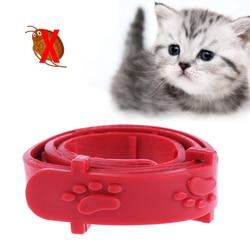 1/3 шт Красный Регулируемый, для собак, кошек, кроликов, шейный ремень, анти-блошиный клещ Acari, клещевый ошейник, товары для домашних животных, ...