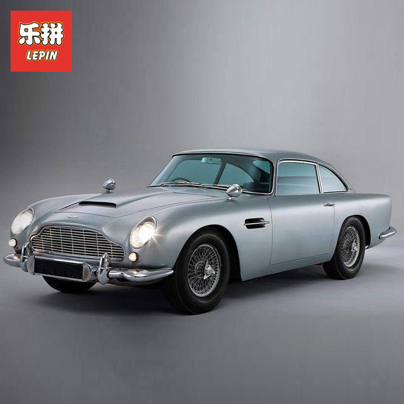 Lepin 21046 Compatible Legoing 10262 Creator Expert James Bond Aston Martin DB5 Model Assembled DIY Gifts Building Blocks Bricks