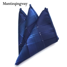 Mantieqingway Brand Handkerchiefs Colorful Paisley&Floral Polyester Handkerchief Mens Pocket Square Towel Women Hanky Pockets