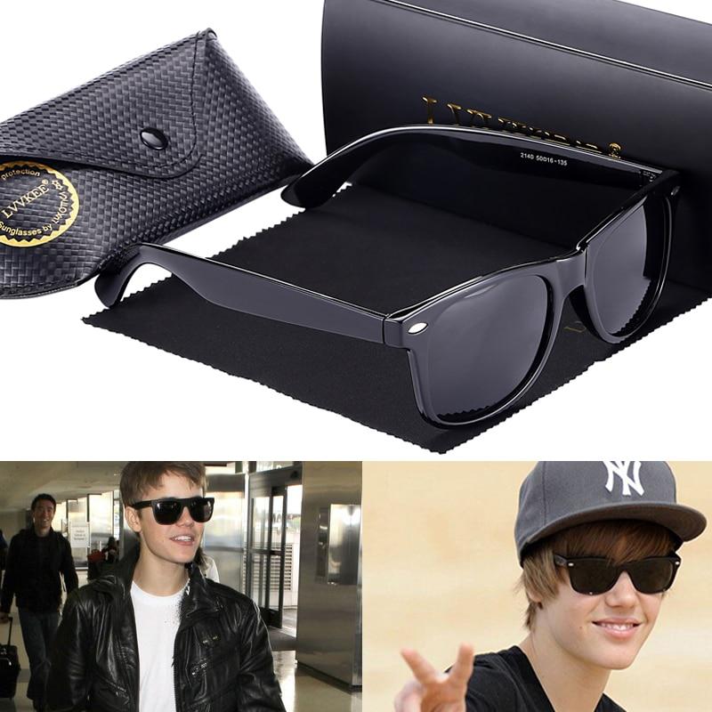 Hot LVVKEE 2019 Brand Fashion Men Polarized Sunglasses Women Outdoors Driving Sun Glasses Retro Justin Uv400 Rays Oculos Female