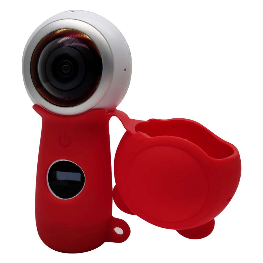 For Samsung Gear360 2th Action Camera Soft Silicone Case Cover Skin Housing Shell Skidproof scratch-proof dust-proof