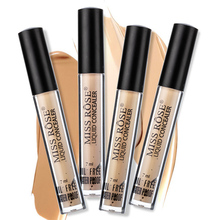 MISS ROSE Liquid Concealer 6 Colors Professional Face Makeup Base Make-up Perfect Cover Cream Coverage Foundation Matte все цены