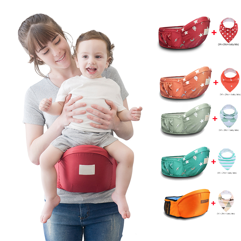 Multi-functional Baby Carrier Waist Stool Front Carry Walkers Baby Sling Hold Waist Belt Backpack Hipseat Belt Kids Infant Hip