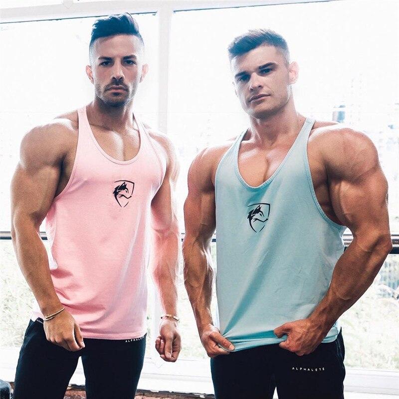 Men's Clothing Reasonable Muscleguys Brand Clothing Bodybuilding Shirt Fitness Men Tank Top Workout Vest Stringer Tanktop Cotton Sportswear Undershirt Tops & Tees