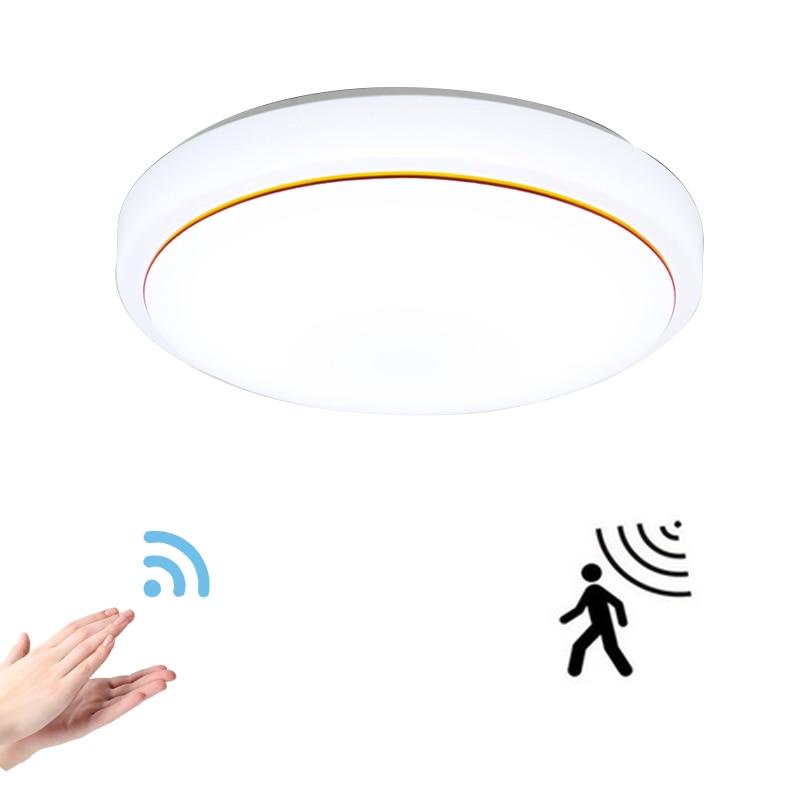 Motion Sensor / Radar induction led ceiling lights 12W ...