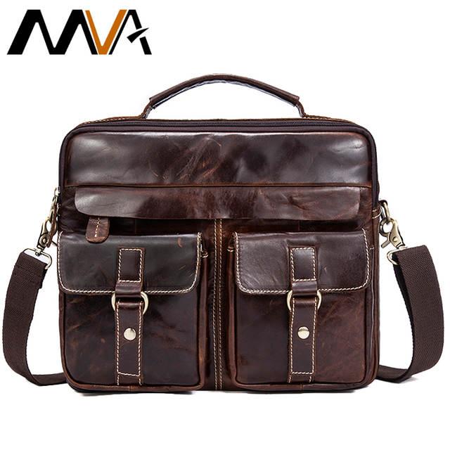 placeholder MVA горячие продаж сумка через плечо мужская сумка для  документов мужская сумка для ноутбука кожа портфель d6fd36f8d5b