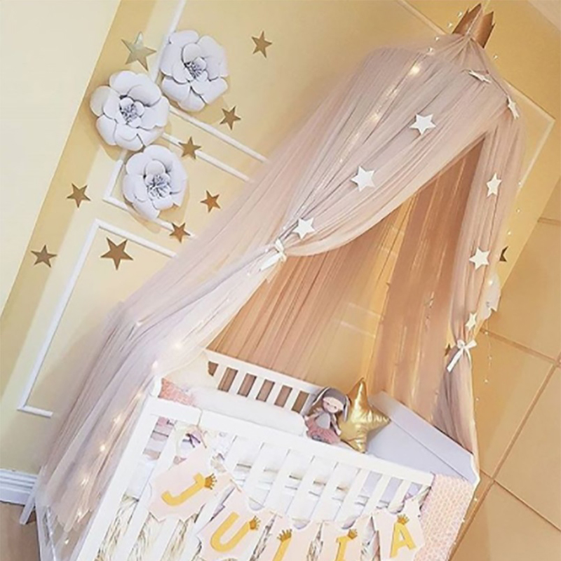 Urijk Net Baby Crib Tents Bed Curtain Hung Dome Mosquito Net Kids Girls Hanging Mosquito Net Tents for Children Room -in Mosquito Net from Home u0026 Garden on ... & Urijk Net Baby Crib Tents Bed Curtain Hung Dome Mosquito Net Kids ...