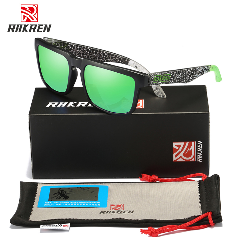 BRAND DESIGN Polarized Sunglasses Women Oculos Square For Men Vintage Retro Sport UV400 Gafas