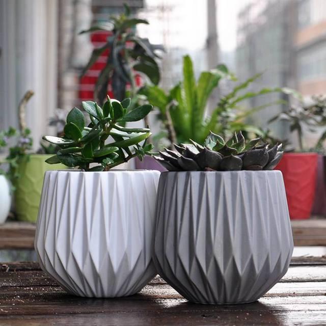 Modern Decoration Ceramic Indoor Plant Pot Flower Pot Home ...