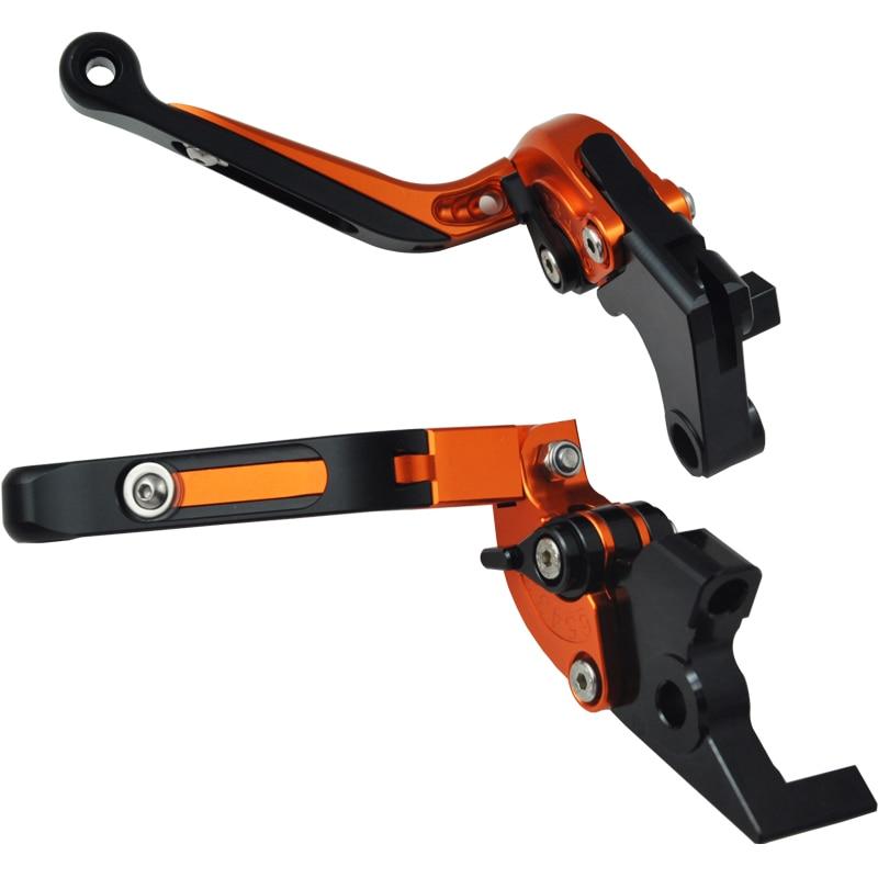 ФОТО Motorbike Accessories CNC Folding & Extending Brake Clutch Levers For Kawasaki ZX6R ZX636 2007 - 2014 2008 2010 2012 ZX 6R 636