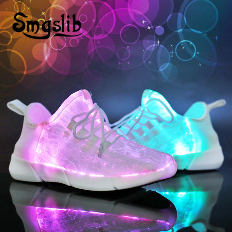 USB Charging kids Led sneaker 2018 spring autumn Children Shoes With Light Up luminous kids boy girls glowing school shoes