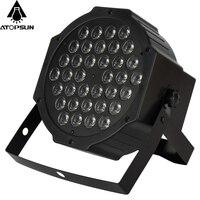 1pcs LED Stage Light Effect Crystal Magic Ball Par 36 RGB LED Disco DJ Bar Effect