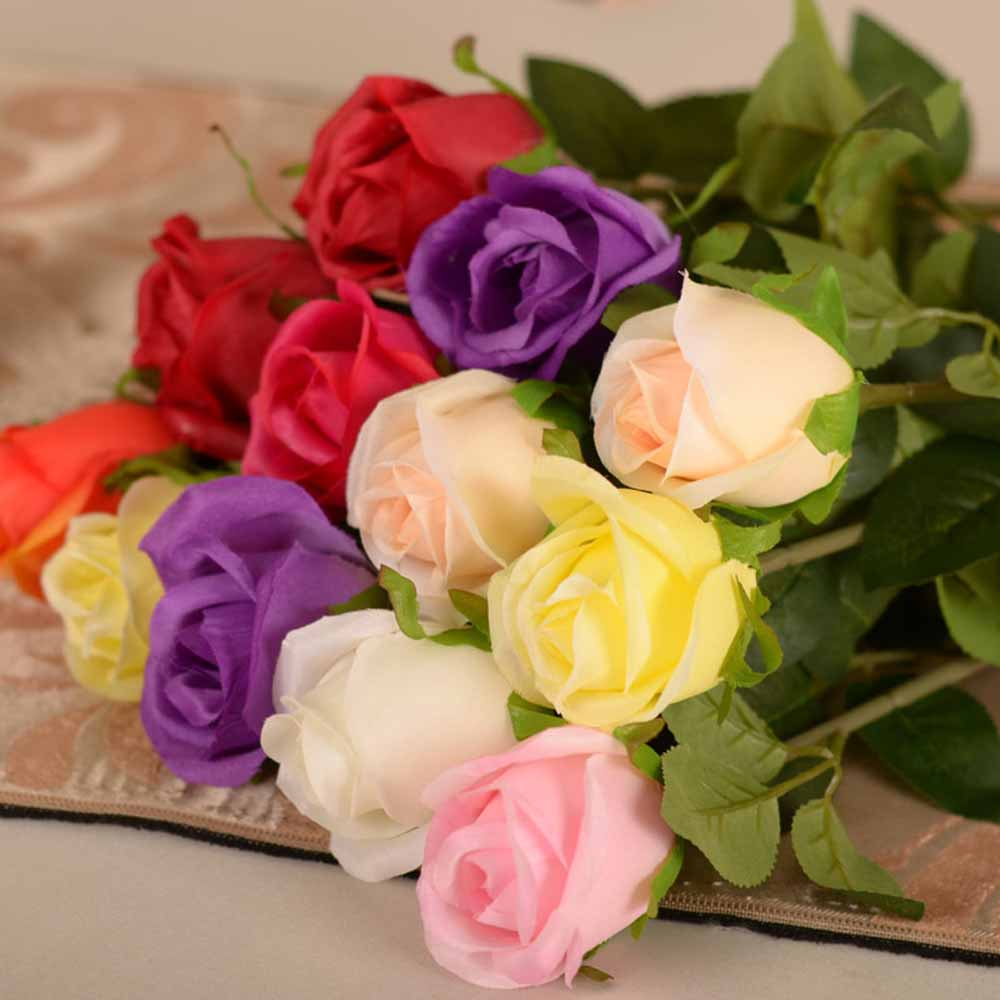Simulation roses flower plastic flowers wedding decoration party simulation roses flower plastic flowers wedding decoration party decpration vase furniture artificial flower floral decoration in artificial dried flowers izmirmasajfo