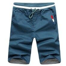 Летние мужские шорты, повседневные тонкие мужские пляжные шорты размера плюс M-3XL