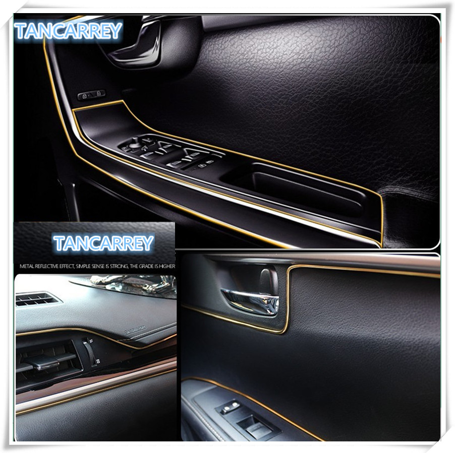 Car interior decoration trim strip stickers for mercedes - Cadillac cts interior accessories ...