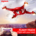 Syma control somatosensorial x5uw uav drone con cámara wifi hd quadcopter 6 ejes 4ch 2.4 ghz inteligente rc helicóptero rojo color