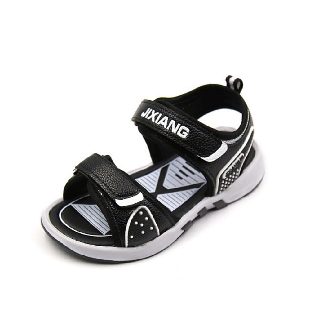 Black sandals for toddler boy - Kids Beach Shoes 2017 Baby Boy Shoes Summer Boys Sandals Fashion Non Slip Designer Sandals For Boy Footwear Black Blue White