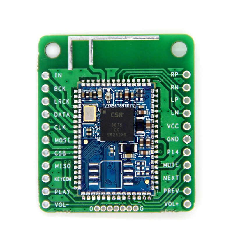 CSR8675 بلوتوث V5.0 منخفضة الطاقة بلوتوث وحدة صوت APTX-HD ضياع ضغط I2S الألياف SPDIF
