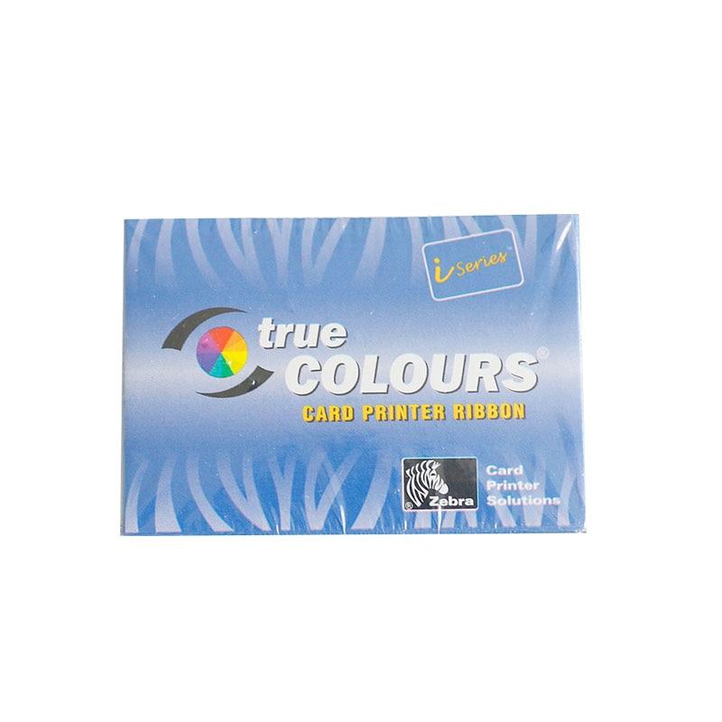For Zebra 800015-440 Color Ribbon - YMCKO - 200 prints for use with P310i P330i P430i card printer international version 500prints roll uv fluorescent thermal transfer ribbon for zebra id card printer p310 p330i p430i