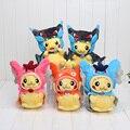 20-25 cm Pikachu Cosplay X Charizard Magikarp Brinquedo Juguetes de Peluche Juguetes de Peluche Animales de Peluche de Felpa de Dibujos Animados de Moda