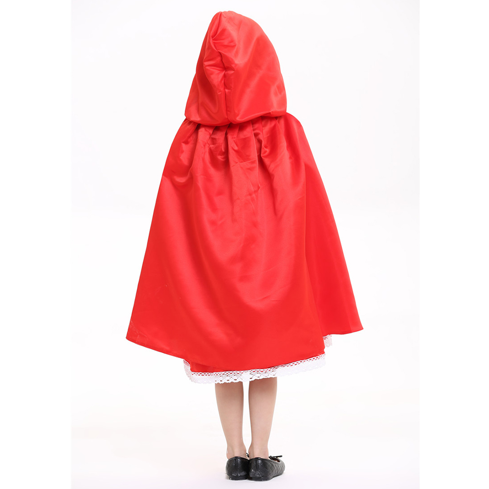 2018 Nueva alta calidad Little Red Riding Hood cosplay traje princesa - Disfraces - foto 6