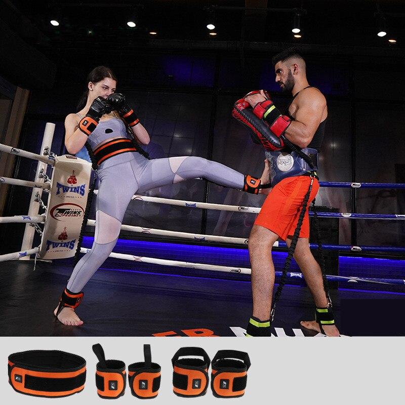 Rebond formateur corde élastique résistance bandes Fitness extenseur basket-ball saut entraînement jambe étirement agilité entraînement Gym Roe - 2