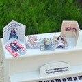 1:12 Миниатюрная Книга 4 Журнал Журнал + 2 Газета-DIY Кукольный Дом Кукольный Домик мебельной Фурнитуры