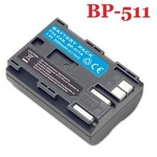BP-511 Батарея BP-511A BP511 BP511A для Canon G6 G5 G3 G2 G1 EOS 300D 50D 40D 30D 20D 5D MV300i цифровой Камера 7,4 В литий-ионный + трек