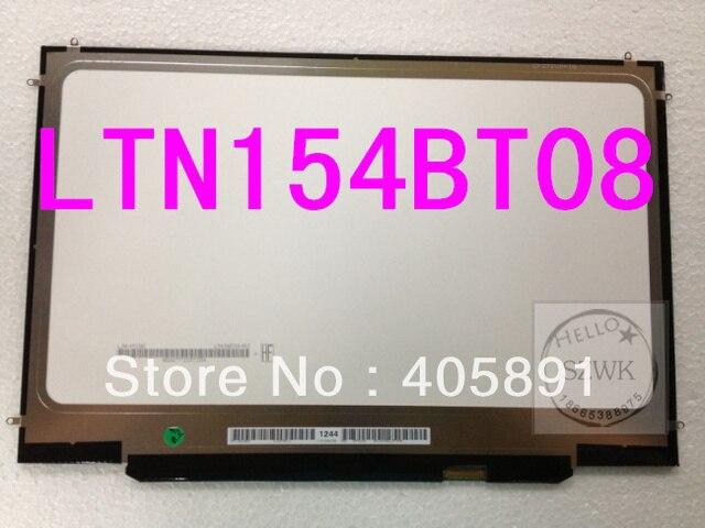 """Pantalla a estrenar del LCD para Macbook Pro A1286 MB470 MB985 MC371 MC721 15.4 """" LTN154BT08 portátil llevó la exhibición 2008 a 2012 años"""