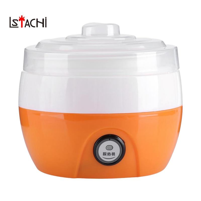 appliance:  LSTACHi Electric Automatic Yogurt Maker Machine Yoghurt Diy Tool Plastic Container Kitchen Appliance - Martin's & Co