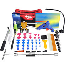 Herramientas PDR de Abolladuras Sin pintura para Reparación Herramientas Dent Removal Tool Set herramientas Dent Puller Kit Junta Reflector Puller aquí