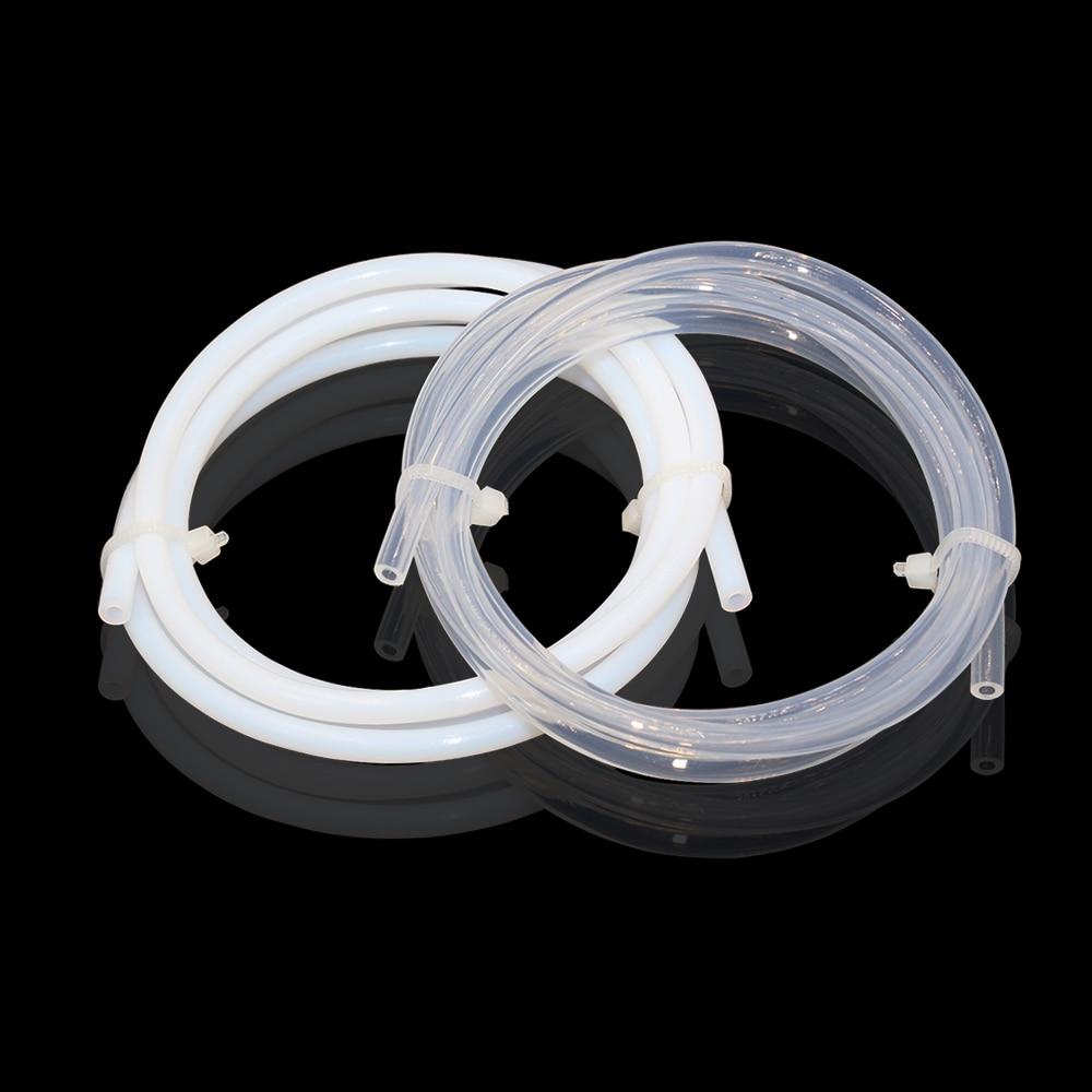 1 Meter 3D Printers Imported Clear/White PFA PTFE Tube Teflon PiPe, J-head Hotend RepRap Rostock Bowden Extruder 2x3 2x4 3x4 4x6