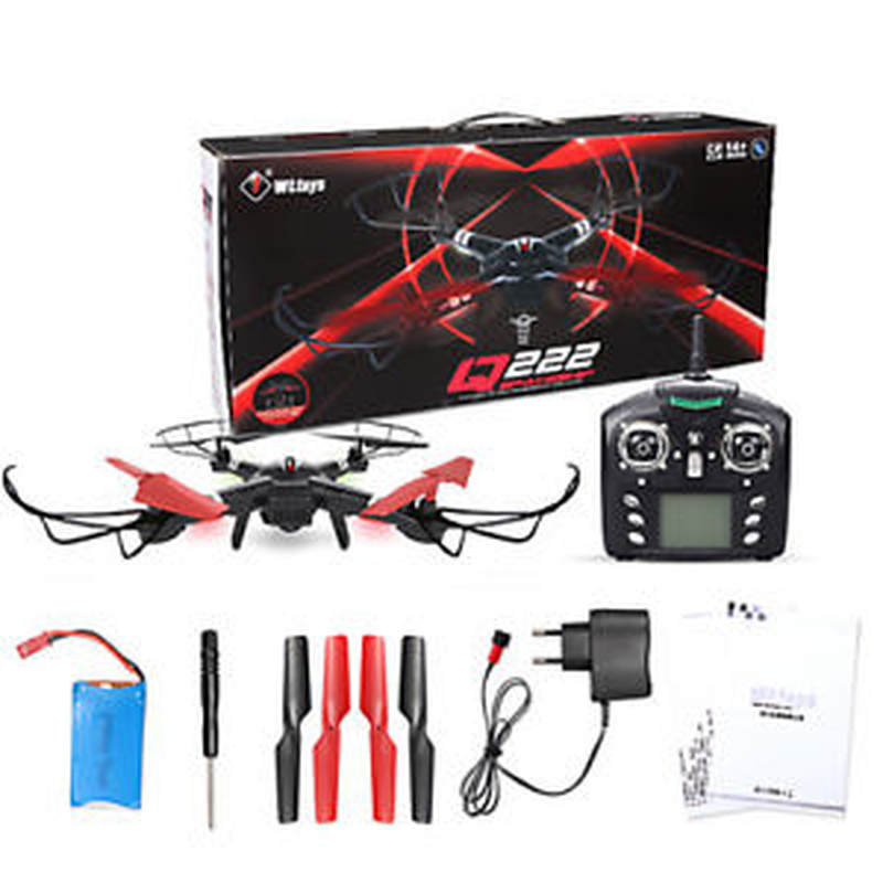RC Quadcopter Headless Mode Aircraft Q222 Drone Quadrocopter 2.4G 4CH 6-Axis 3D fly Helicopter RC toys for boysRC Quadcopter Headless Mode Aircraft Q222 Drone Quadrocopter 2.4G 4CH 6-Axis 3D fly Helicopter RC toys for boys