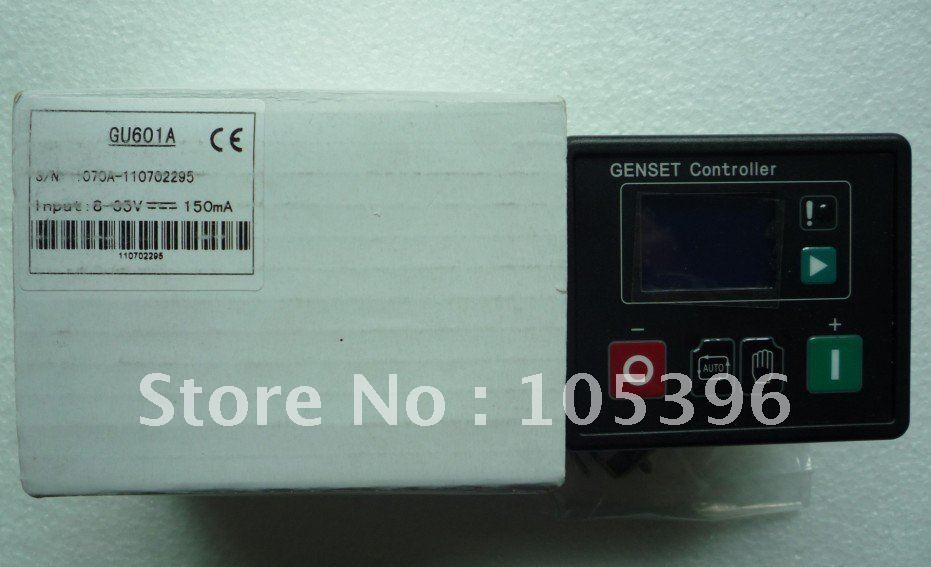 Genset controller GU601A+fast free shipping by DHL/FEDEX/UPS