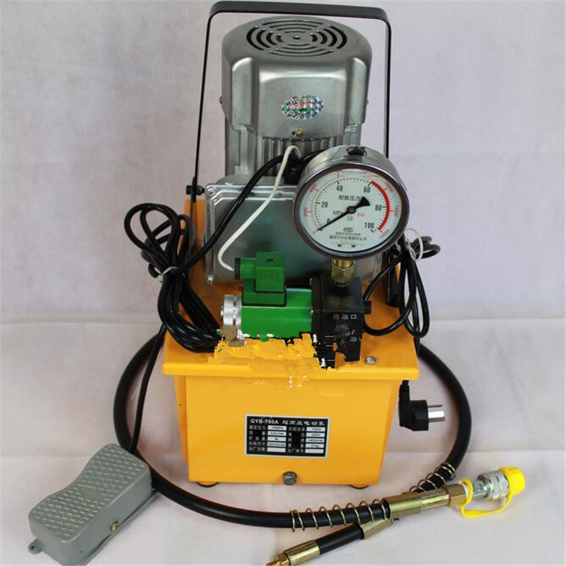 Pompe à moteur hydraulique ZCB-700D pompe hydraulique électrique haute pression pompe hydraulique manuelle pompe à huile électrique 0.75KW 7.5L 220 V