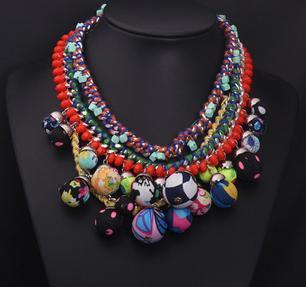 2014 European Z Brand Fashion Crystal Necklaces & Pendants Vintage Luxury Chunky Choker Big Collar Necklace Statement