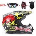 Motorcycle helmet mens moto helmet top quality capacity motocross off road motocross helmet DH MTB DOT