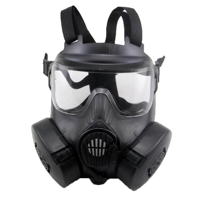 Paintball tactique Airsoft jeu Protection du visage masque de sécurité garde M50 masque à gaz - 3