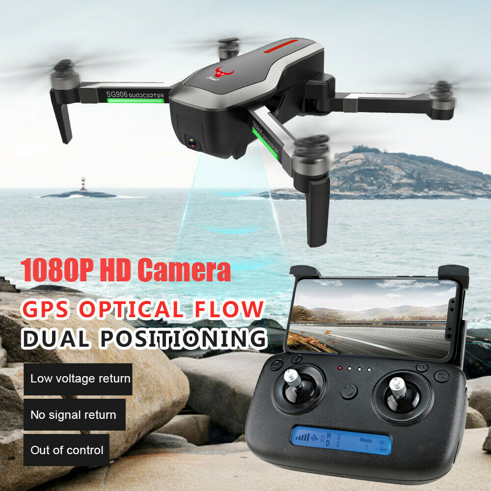 BRDRC SG906 GPS 5G WIFI FPV 4K Selfie Drones With Camera Brushless Foldable HD