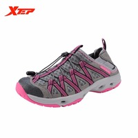 Free Shipping Xtep 2015 Winter Women Breathable Outdoor Hiking Authentic Sports Shoes Climbing Sneaker Trail Mountaineering