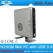 2 Г ОЗУ 32 Г SSD Причастником N390M Celeron 1037U Linux МИНИ-ПК с Ультра-низкое Энергопотребление поддержка Bluetooth Wi-Fi