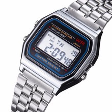 Hot Luxury Brand Design LED Watch Multifunction Life Waterproof Watch